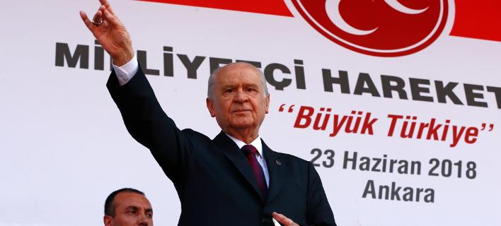 Ντεβλέτ Μπαχτσελί (Φωτογραφία: AP Photo/Burhan Ozbilici)
