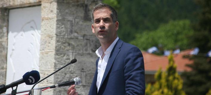 Ο περιφερειάρχης Στερεάς Ελλάδας, Κώστας Μπακογιάννης. Φωτογραφία: Eurokinissi