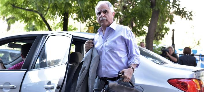 Για πολιτικές ευθύνες στη ρύπανση του Σαρωνικού μίλησε ο κ. Μπαλάφας (Φωτογραφία: EUROKINISSI/ΤΑΤΙΑΝΑ ΜΠΟΛΑΡΗ)