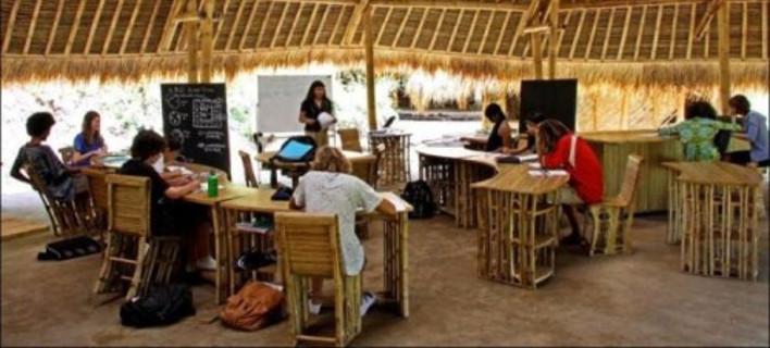 Ενα σχολείο... διαφορετικό από τα άλλα στο εξωτικό Μπαλί [εικόνες]