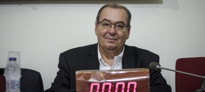 Ο Αντώνης Μπαλωμενάκης / Φωτογραφία: Eurokinissi