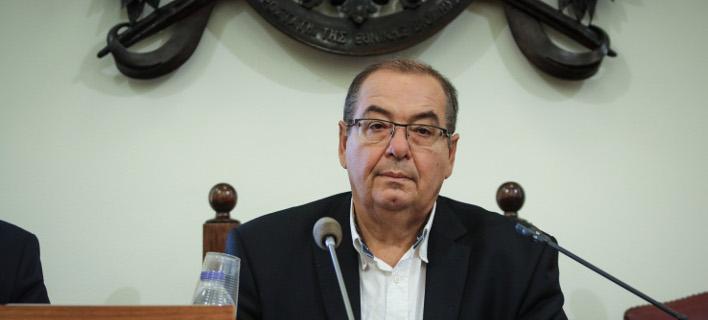 Ο βουλευτής Χανίων του ΣΥΡΙΖΑ Αντώνης Μπαλωμανέκης -Φωτογραφία:  EUROKINISSI/ΓΙΑΝΝΗΣ ΠΑΝΑΓΟΠΟΥΛΟΣ