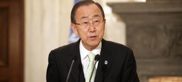 Ο Μπαν Κι-μουν τα έψαλε στους ηγέτες: Τροφοδοτείτε τη μηχανή του πολέμου στη Συρία -Εχετε αίμα στα χέρια σας