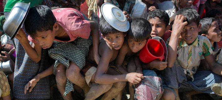 Μπαγκλαντές: Ποδοπατήθηκαν μέχρι θανάτου για μερικά δωρεάν τρόφιμα, Φωτογραφία Αρχείου: AP