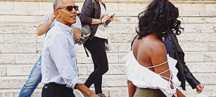 Αλλοι Ομπάμα -Μένουν σε βίλα 15.000 δολ. τη βραδιά στην Τοσκάνη, η Μισέλ αποφεύγει όσους την χαιρετούν [εικόνες & βίντεο]