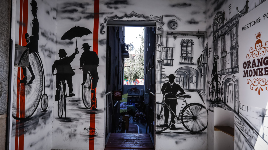 Σε μια γωνιά της Βαρκελώνης... - ΦΩΤΟΓΡΑΦΙΑ: LATO KLODIAN / EUROKINISSI