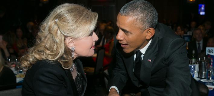 Η συνάντηση της Μαριάννα Β. Βαρδινογιάννη με τον Μπάρακ Ομπάμα