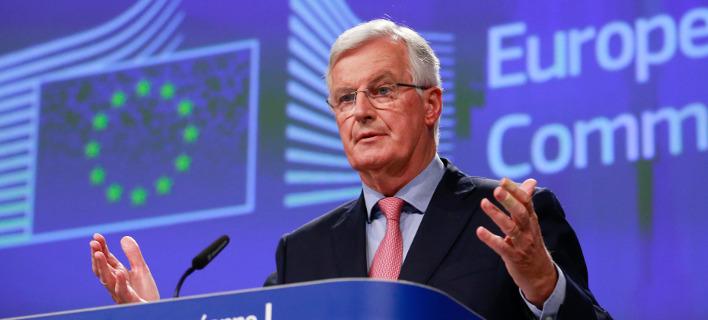 Ο επικεφαλής διαπραγματευτής της ΕΕ για το Brexit Μισέλ Μπαρνιέ /Φωτογραφία AP images