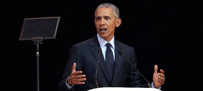 O Μπαράκ Ομπάμα είναι από τους πλέον ακριβοπληρωμένους ομιλητές στον κόσμο (Φωτογραφία αρχείου: AP/Themba Hadebe)