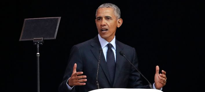 O Mπαράκ Ομπάμα / Φωτογραφία: ΑΡ