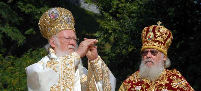 Ο Οικουμενικός Πατριάρχης Βαρθολομαίος στην Ουκρανία -Φωτογραφία αρχείου: Eurokinissi