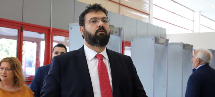 «Πρέπει να σοβαρευτούμε», είπε ο κ. Βασιλειάδης / Φωτογραφία: Eurokinissi