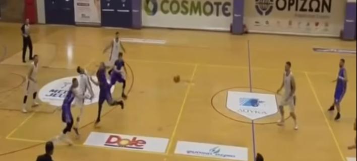 Μπασκετμπολίστας του Δούκα κινδυνεύει να χάσει την όρασή του από χτύπημα αντιπάλου [βίντεο]