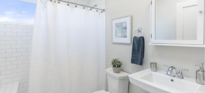 Κουρτίνα μπάνιου, Φωτογραφία: Shutterstock
