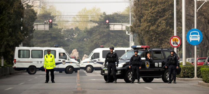 H αστυνομία συνέλαβε τον δράστη (Φωτογραφία αρχείου: ΑΡ/Mark Schiefelbein)