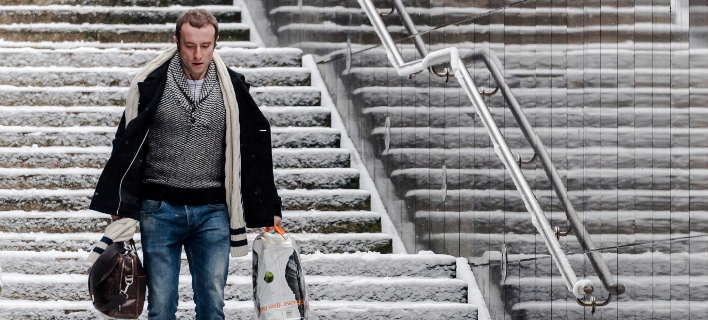 Χιονοπτώσεις στο Βέλγιο -Ακυρώσεις πτήσεων στο αεροδρόμιο των Βρυξελλών