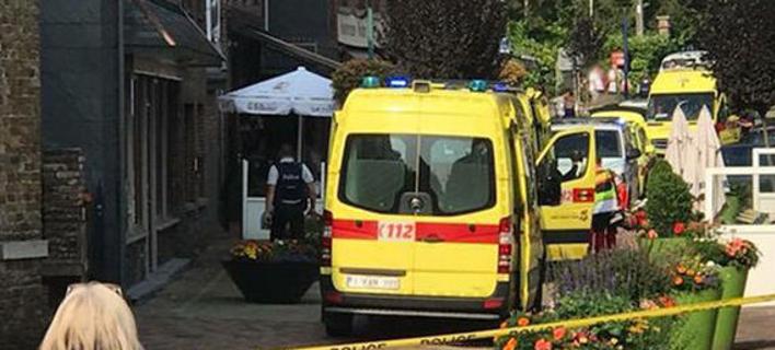 Επίθεση με μαχαίρι σε εστιατόριο του Βελγίου (Φωτογραφία: RTL)