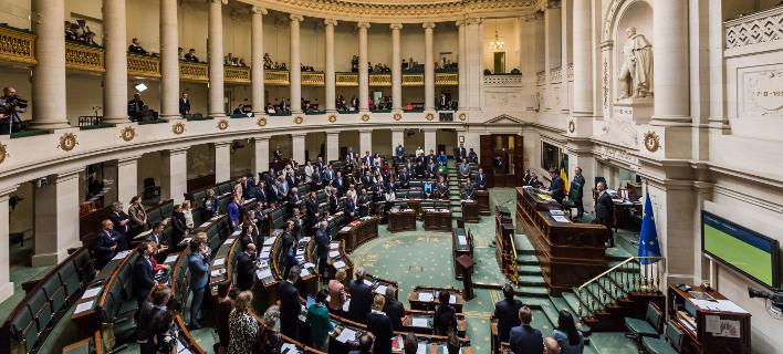 Βελγιο πολιτικοί/ Φωτογραφία AP images
