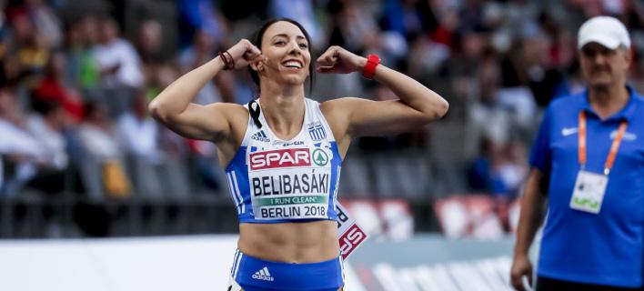 Η Μαρία Μπελιμπασάκη (Φωτογραφία: EUROKINISSI)
