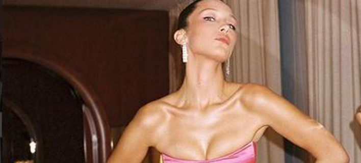 Το διάσημο μοντέλο Μπέλα Χαντίντ. Φωτογραφία: Instagram