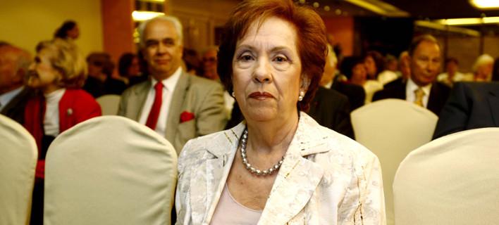 Αννα Ψαρούδα Μπενάκη, Φωτογραφία: ΚΑΤΩΜΕΡΗΣ ΚΩΣΤΑΣ/EUROKINISSI