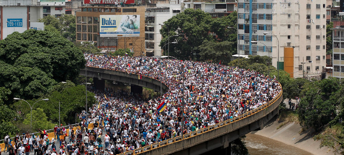 Η «μητέρα όλων των διαδηλώσεων» έγινε στη Βενεζουέλα εναντίον του Μαδούρο [εικόνες]