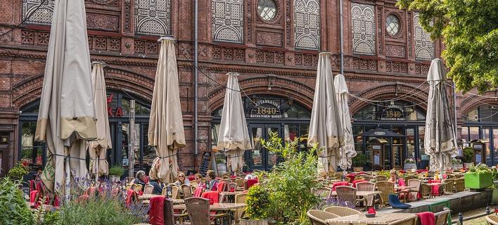 Καφέ στο κέντρο του Βερολίνου/Φωτογραφία: Pixabay
