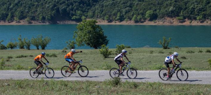 Αποτέλεσμα εικόνας για ποδηλασια ποταμι