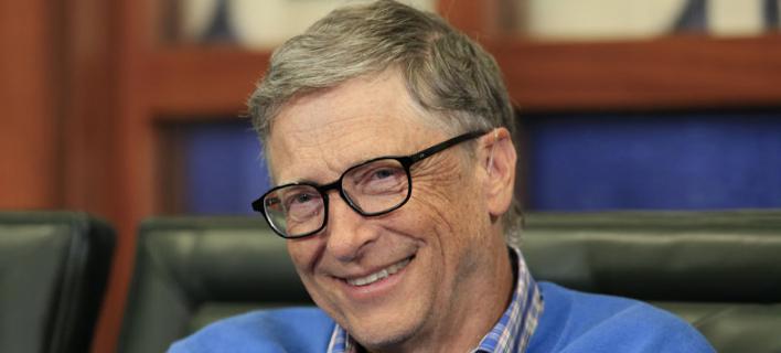 Ο συνιδρυτής της Microsoft Μπιλ Γκέιτς -Φωτογραφία: AP
