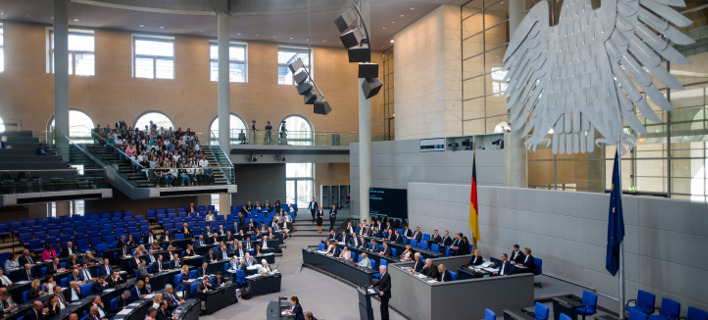 Ερώτηση στη Μπουντεσταγκ για τα κέρδη της Γερμανίας από την ελληνική κρίση κατέθεσαν οι Πράσινοι -Φωτογραφία: AP Photo/Markus Schreiber