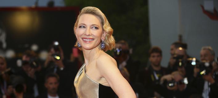 Η ηθοποιός Κέιτ Μπλάνσετ /Φωτογραφία: AP/Joel C Ryan