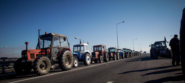 ξεκίνησαν τις κινητοποιήσεις οι αγρότες/Φωτογραφία: Eurokinissi