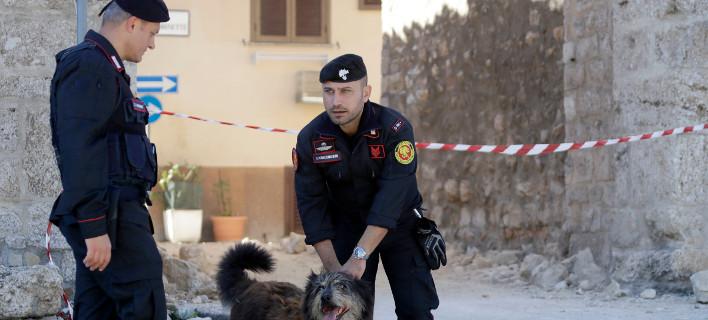 Η ιταλική αστυνομία δεν έχει εντοπίσει το υπόλοιπο σώμα της 58χρονης γυναίκας/ Φωτογραφία: Gregorio Borgia/ AP