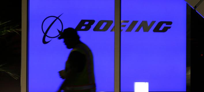 Το σήμα της Boeing / Φωτογραφία: AP Images