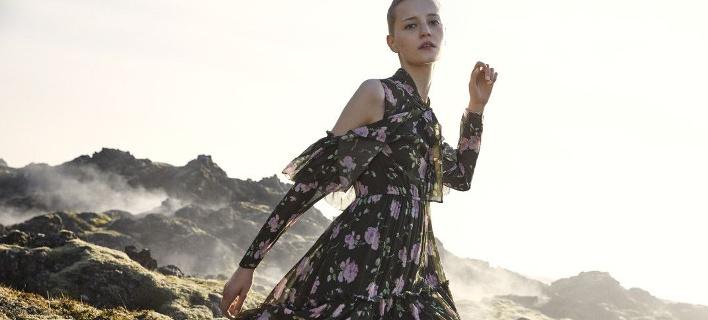 Boho φόρεμα, καμπάνια. Φωτογραφία/Ulla Johnson