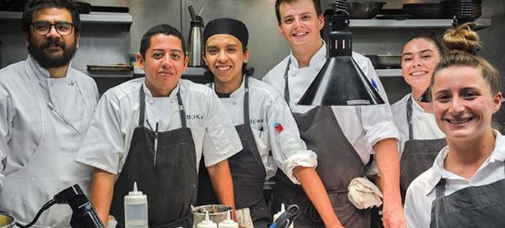 Εστιατόριο που έχει βραβευτεί με αστέρι Μισελέν, φωτογραφίες: instagram/bokachicago