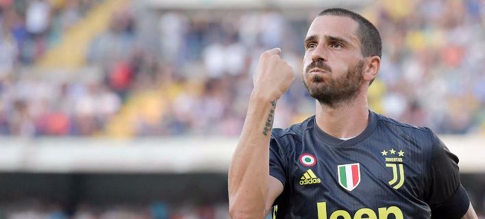 Ο Μπονούτσι της Γιουβέντους /Φωτογραφία: Juventus
