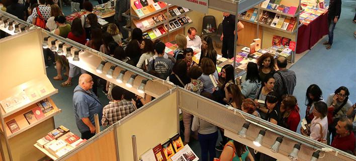 «Αφουγκραζόμαστε, διαβάζουμε, συζητάμε», φωτογραφίες: thessalonikibookfair.gr/