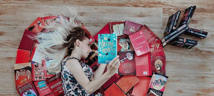 Η λάτρης των βιβλίων, Φωτογραφία: elizabeth_sagan/instagram
