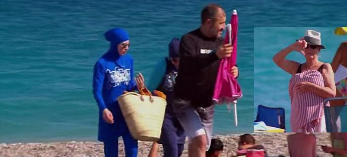 Πείραμα ανοχής: Φόρεσε μπουρκίνι στην Γαλλική Ριβιέρα και την έδιωξαν κακήν κακώς [εικόνες&βίντεο]