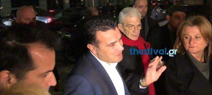 Στη Θεσσαλονίκη ο πρωθυπουργός της ΠΓΔΜ μετά από πρόσκληση Μπουτάρη [βίντεο]