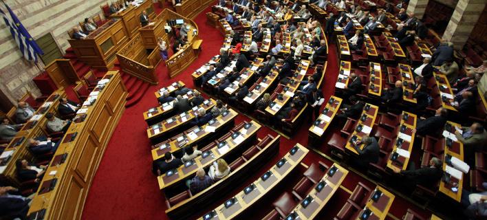 Βουλή (Φωτογραφία: ΧΡΗΣΤΟΣ ΜΠΟΝΗΣ//EUROKINISSI)