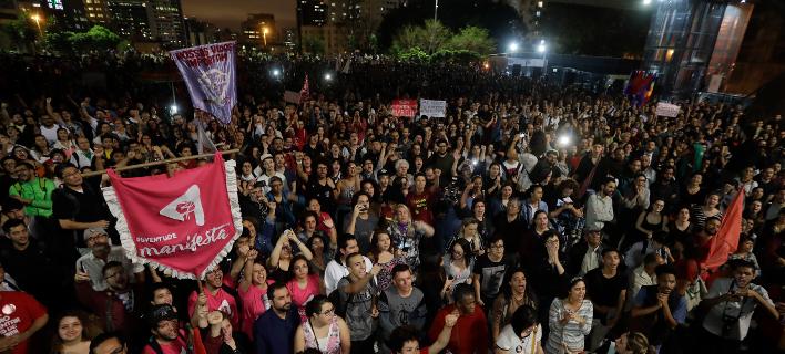 προεκλογική περίοδος στη Βραζιλία/Φωτογραφία: AP