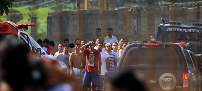 Νεκροί και τραυματίες σε φυλακή της Βραζιλίας (Φωτογραφία: AP/ Claudio Reis)