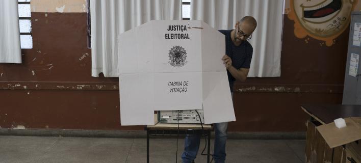 Βραζιλία: Ανοιξαν οι κάλπες για τις προεδρικές εκλογές /Φωτογραφία: EUROKINISSI