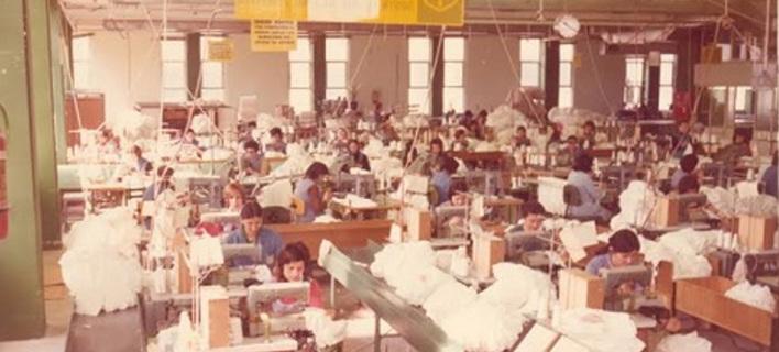 Φωτογραφία: Yota Ioannidou, Palco factory workers 1975