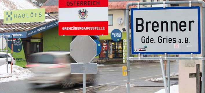 Η Αυστρία ενισχύει τους ελέγχους στα σύνορα με την Ιταλία