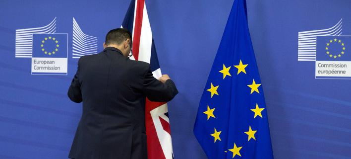 «Ναι» από τη Βουλή των Κοινοτήτων στο νομοσχέδιο του Brexit (Φωτογραφία: AP/ Virginia Mayo)