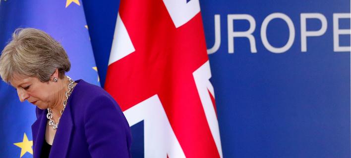 Συμφωνία ΕΕ-Βρετανίας για το Brexit -AP Photo/Alastair Grant