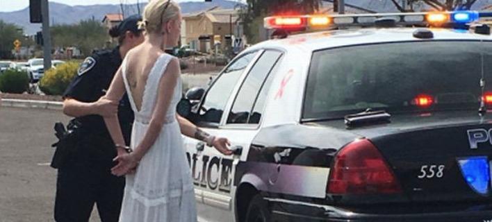 Νύφη πήγαινε στο γάμο της και συνελήφθη [εικόνες]